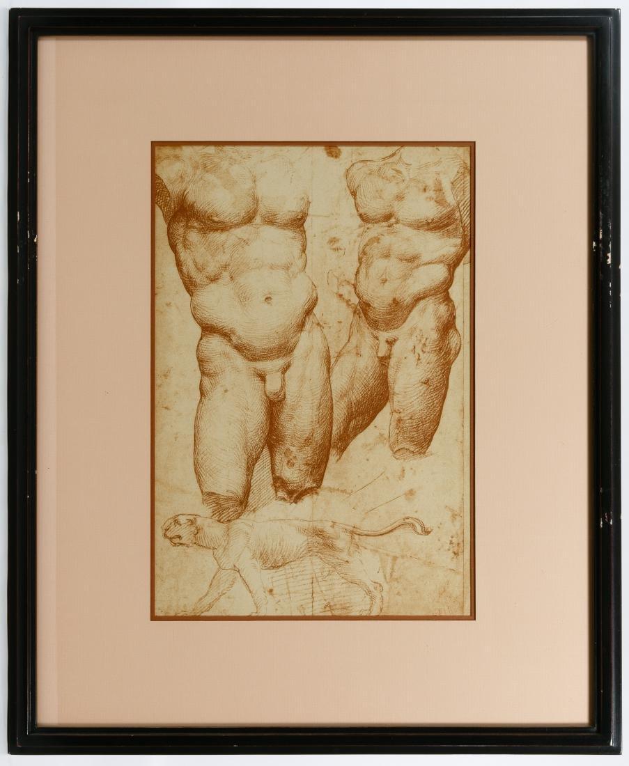 Italian Renaissance Style Male Torso Prints - 5