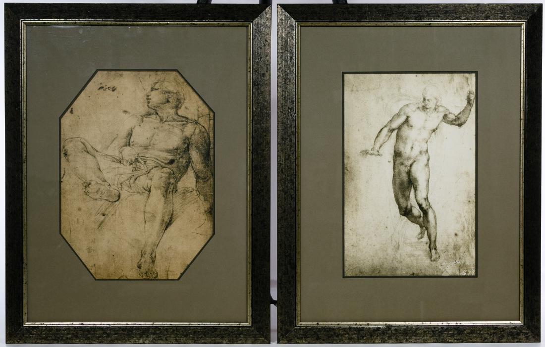 Italian Renaissance Style Nude Male Prints - 2