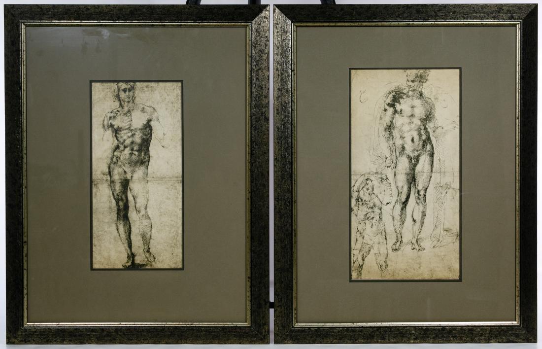 Italian Renaissance Style Nude Male Prints - 3