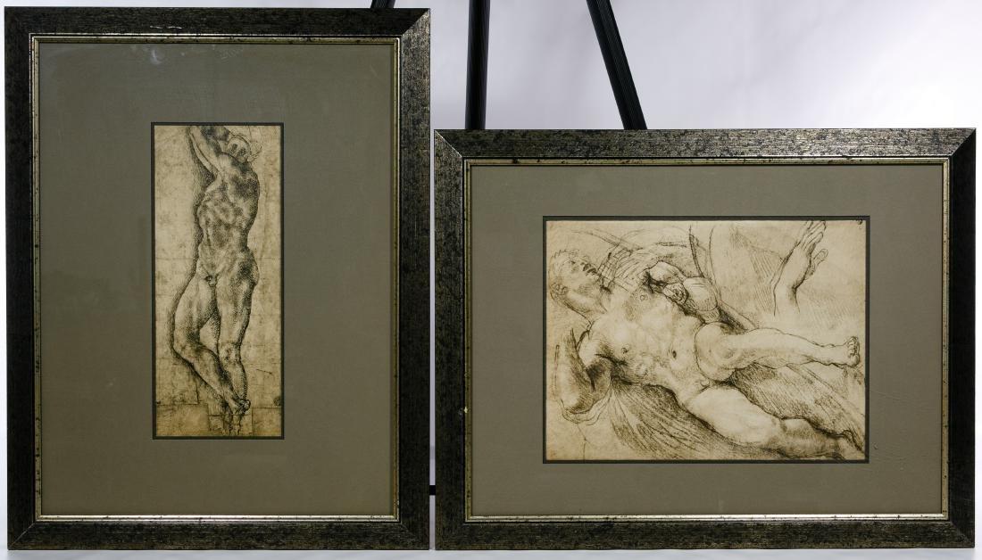 Italian Renaissance Style Nude Male Prints - 4