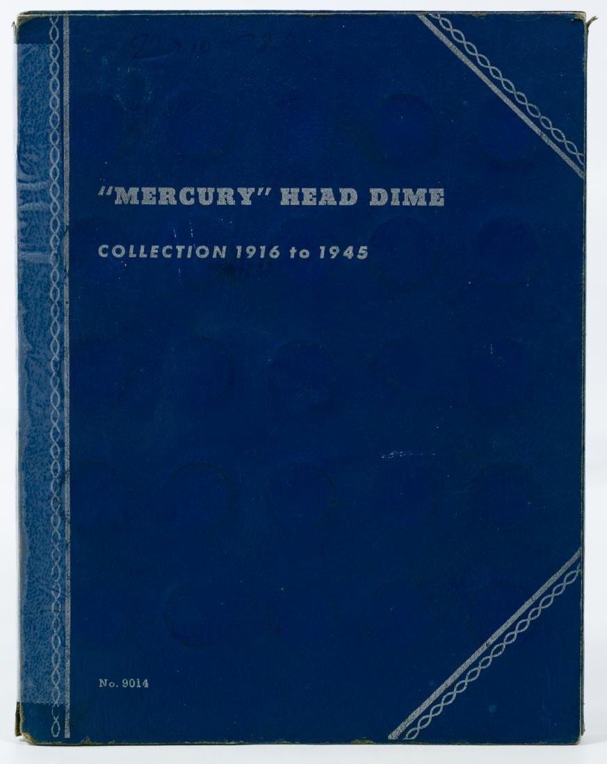 Mercury 10c Partial Set
