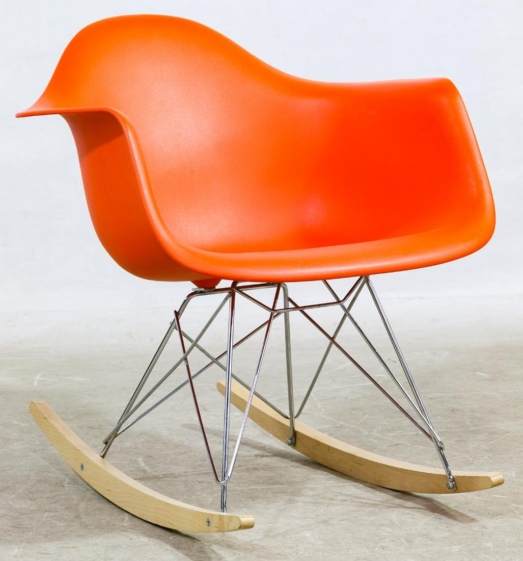 """""""RAR"""" Rocking Chair by Eames for Herman Miller"""