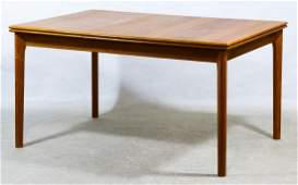 MCM Danish Teak Refectory Dining Table