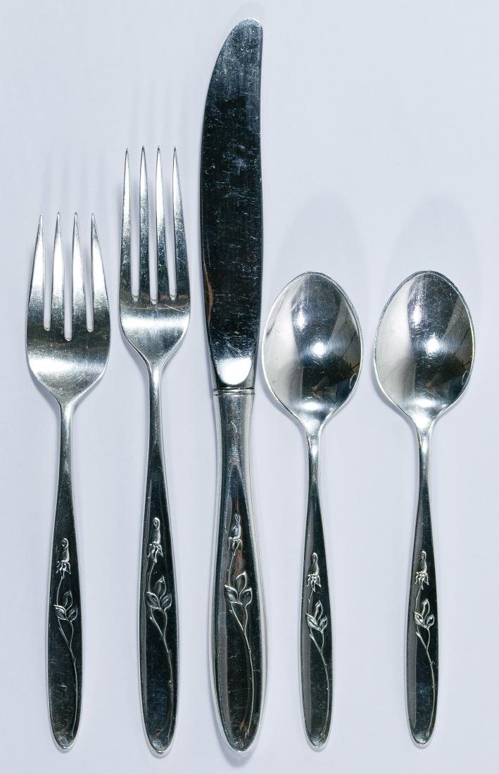 Towle 'Rose Solitaire' Sterling Silver Flatware