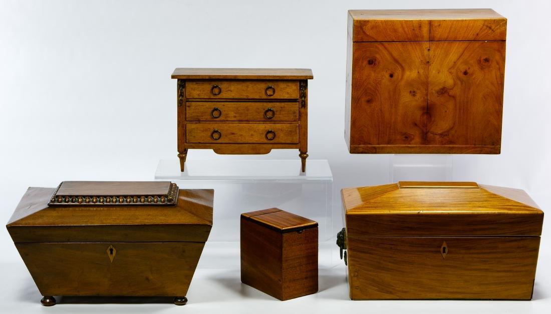 Tea, Decanter and Dresser Box Assortment
