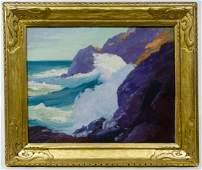 Constance Cochrane (American, 1888-1962) 'Surf at