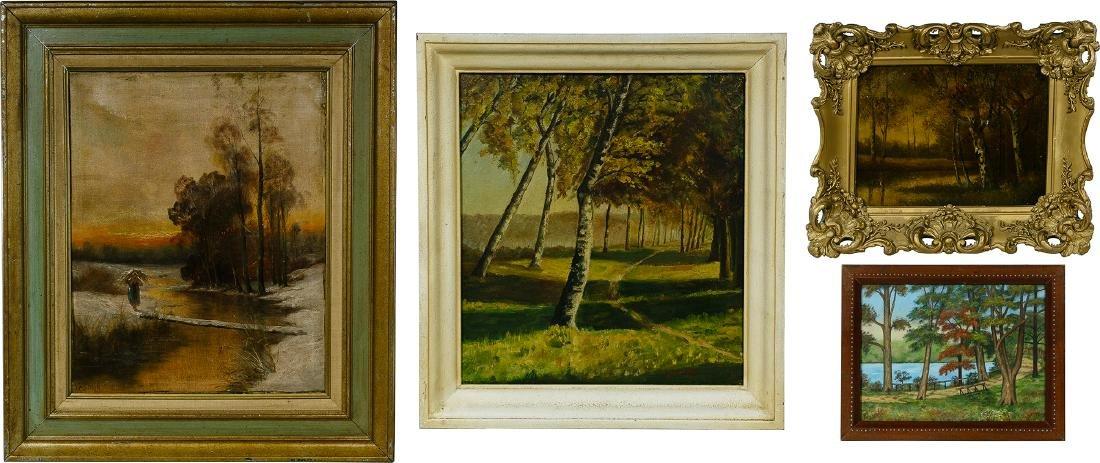 Autumn Landscape Painting Assortment