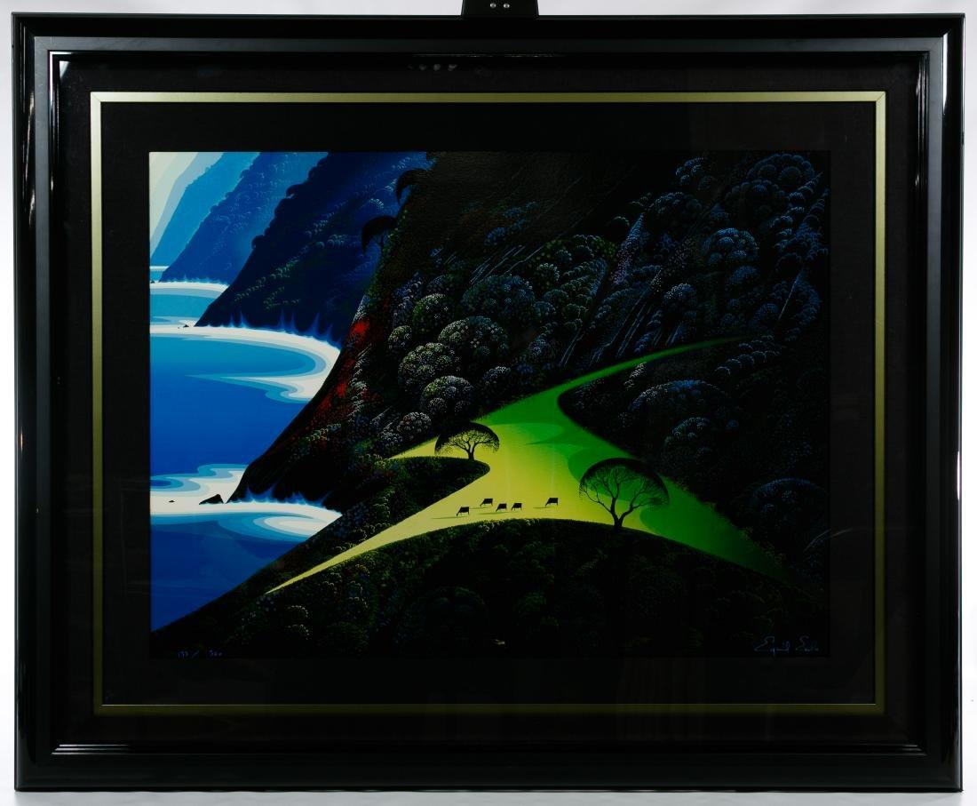 Eyvind Earle (American, 1916-2000) 'Green Pastures'