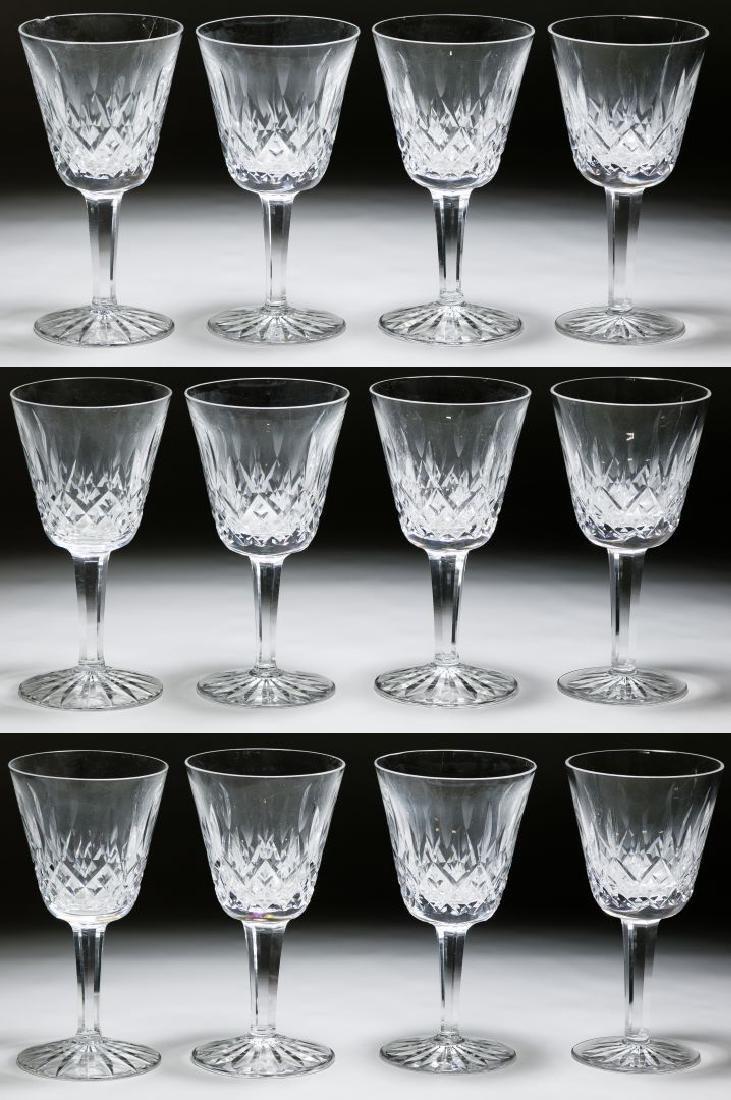 Waterford Crystal 'Lismore' Claret Wine Glasses