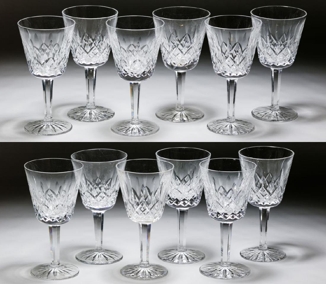 Waterford Crystal 'Lismore' Tall Wine Glasses