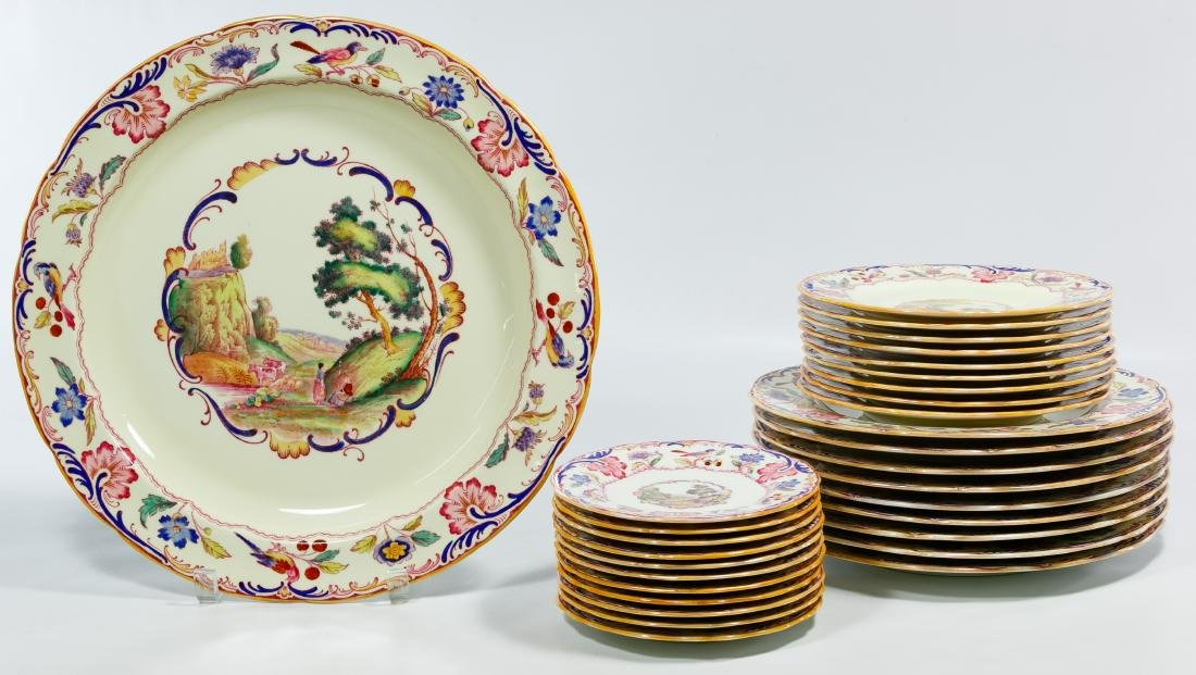 Spode 'Gobelin' Partial China Service