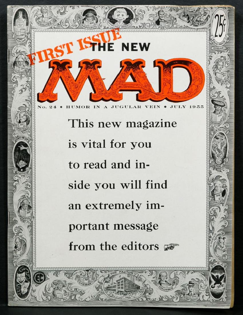 Mad Magazine #24 'First Issue'