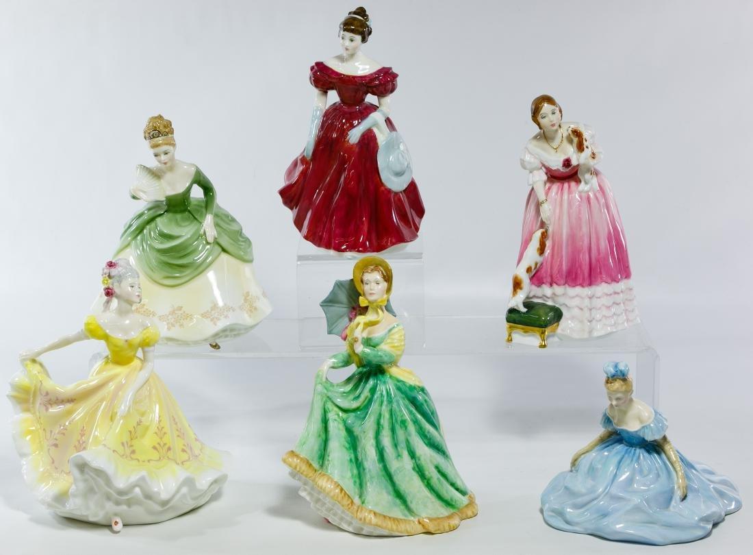 Royal Doulton Figurine Assortment