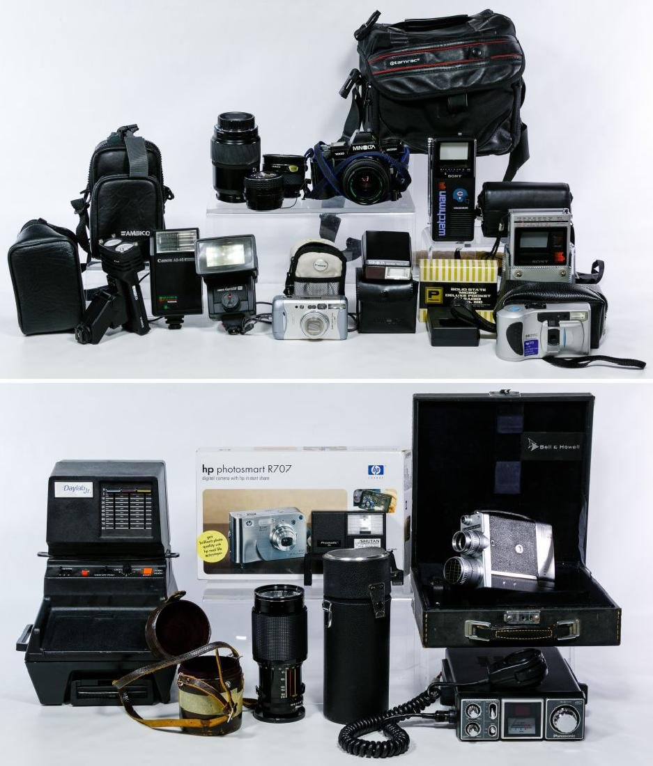 Camera Equipment Assortment