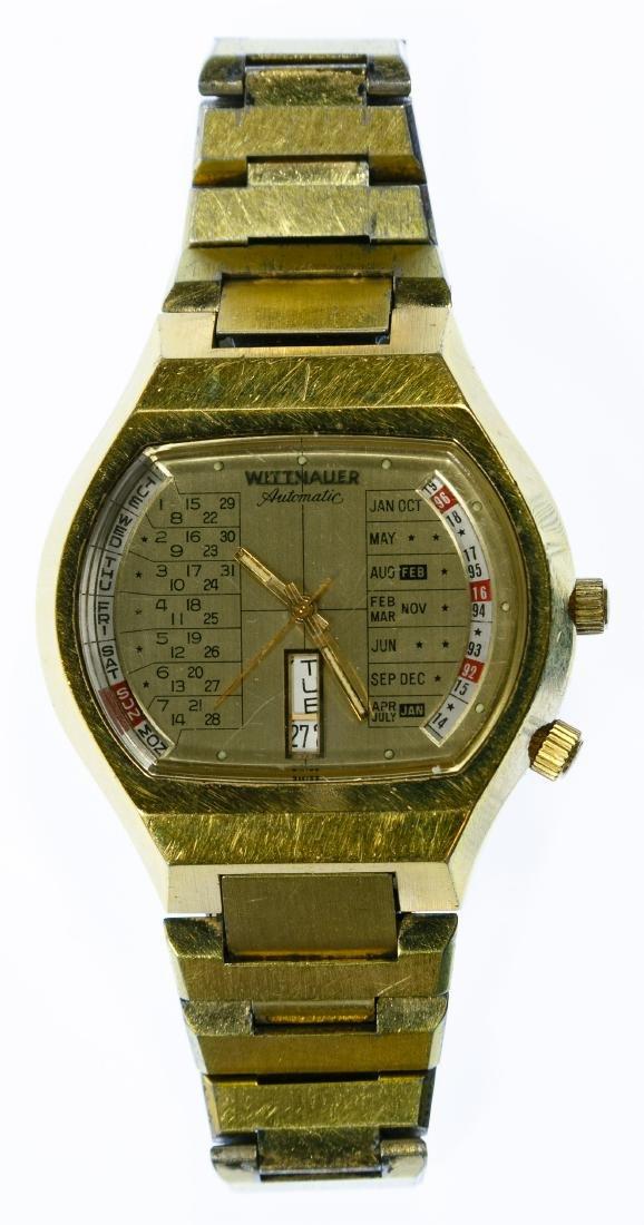 Wittnauer Calendar Wrist Watch