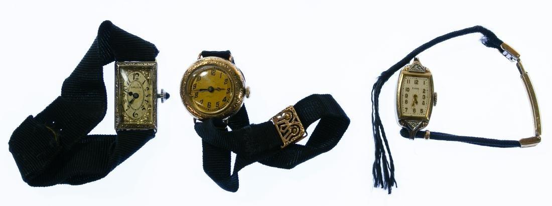 Gruen 14k White Gold Case Wrist Watch