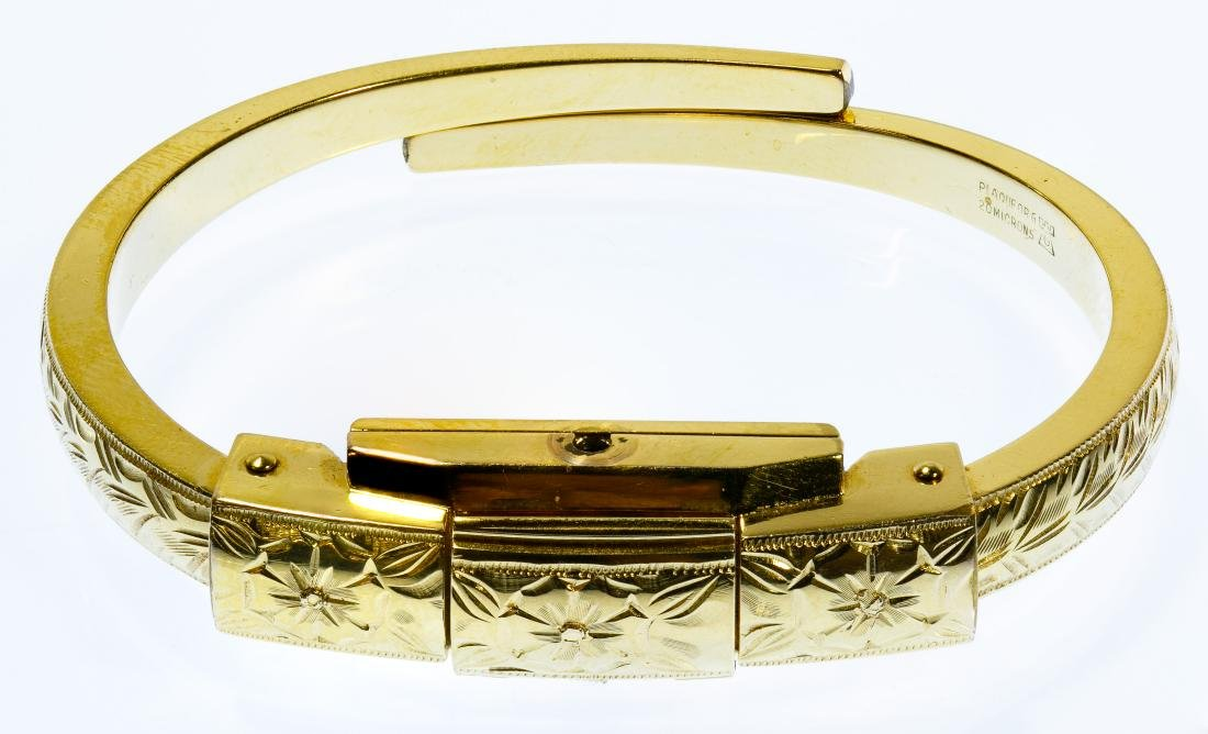 Bucherer Gold Filled Bangle Wrist Watch