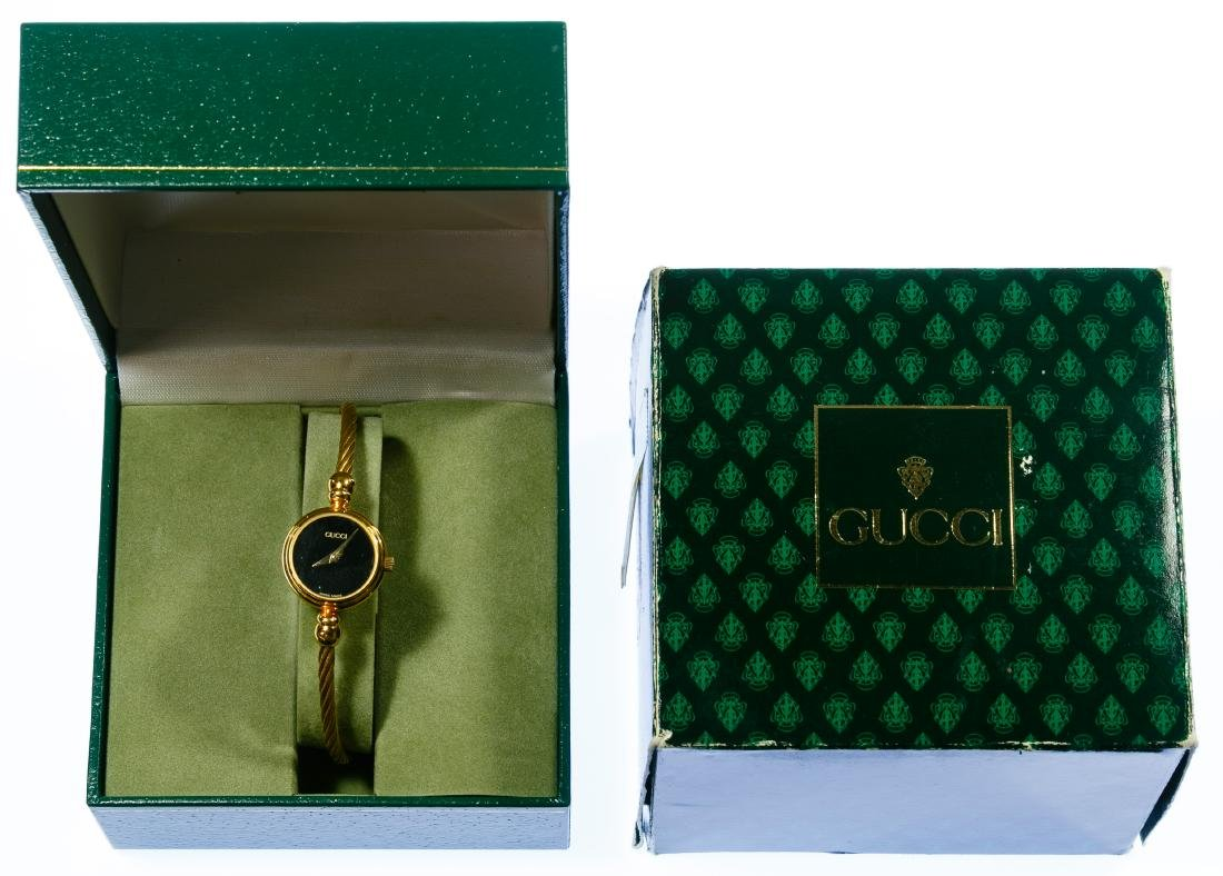Gucci Ladies Gold-tone Lasso Rope Watch