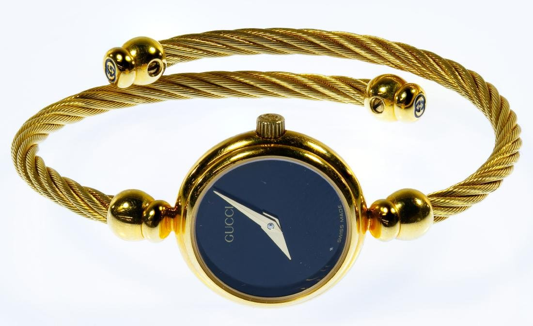 Gucci Ladies Gold-tone Lasso Rope Watch - 2