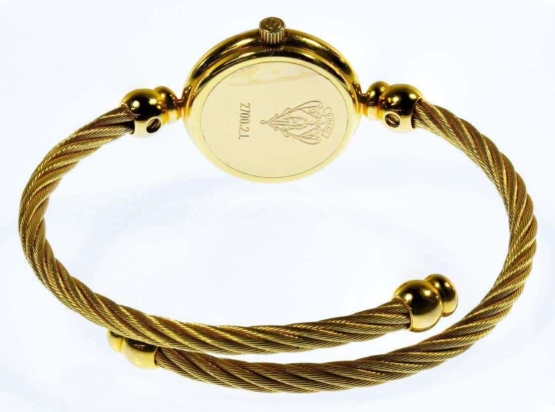 Gucci Ladies Gold-tone Lasso Rope Watch - 3