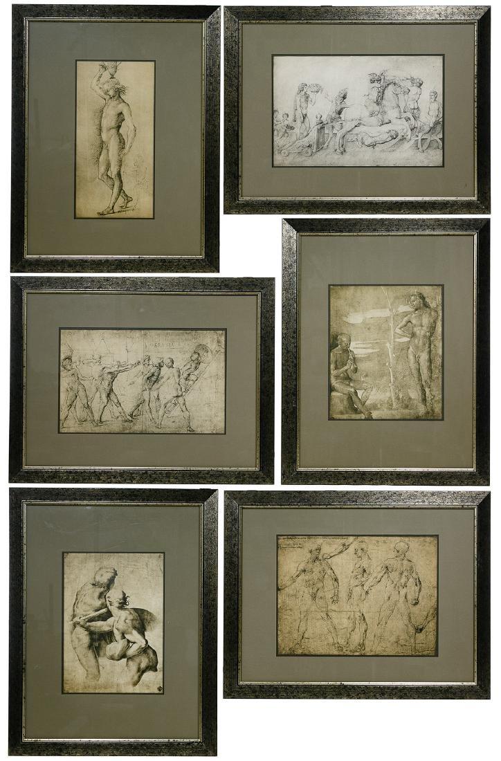Italian Renaissance Style Figural Prints