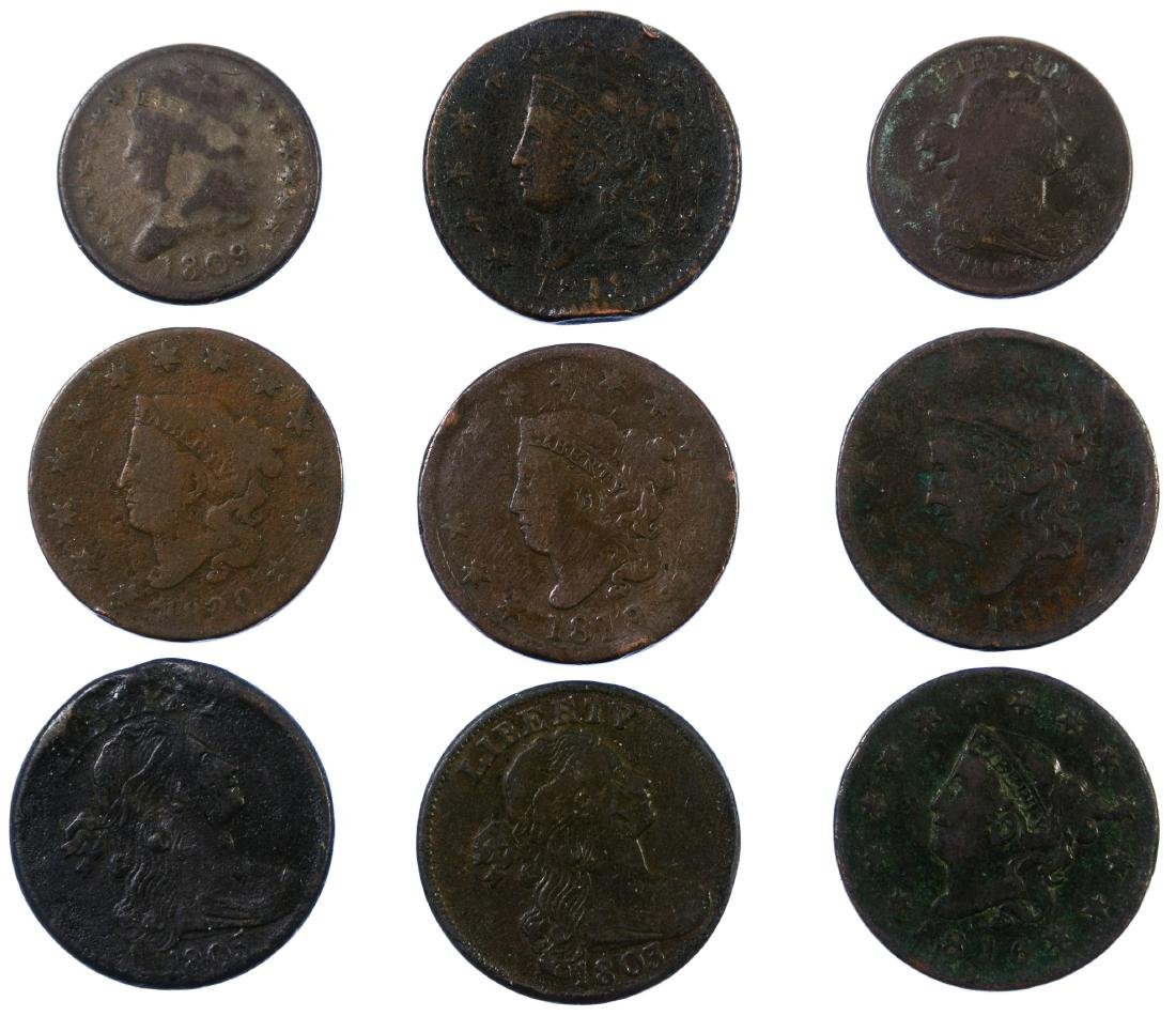 1/2c and Large 1c Assortment