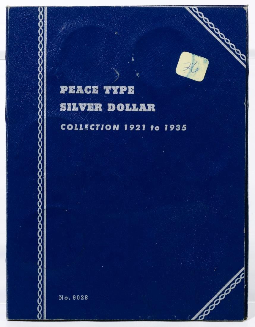 Peace $1 Partial Set