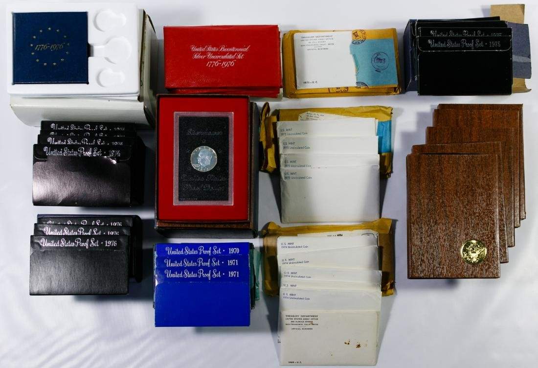 Proof and Mint Set and Stamp Assortment