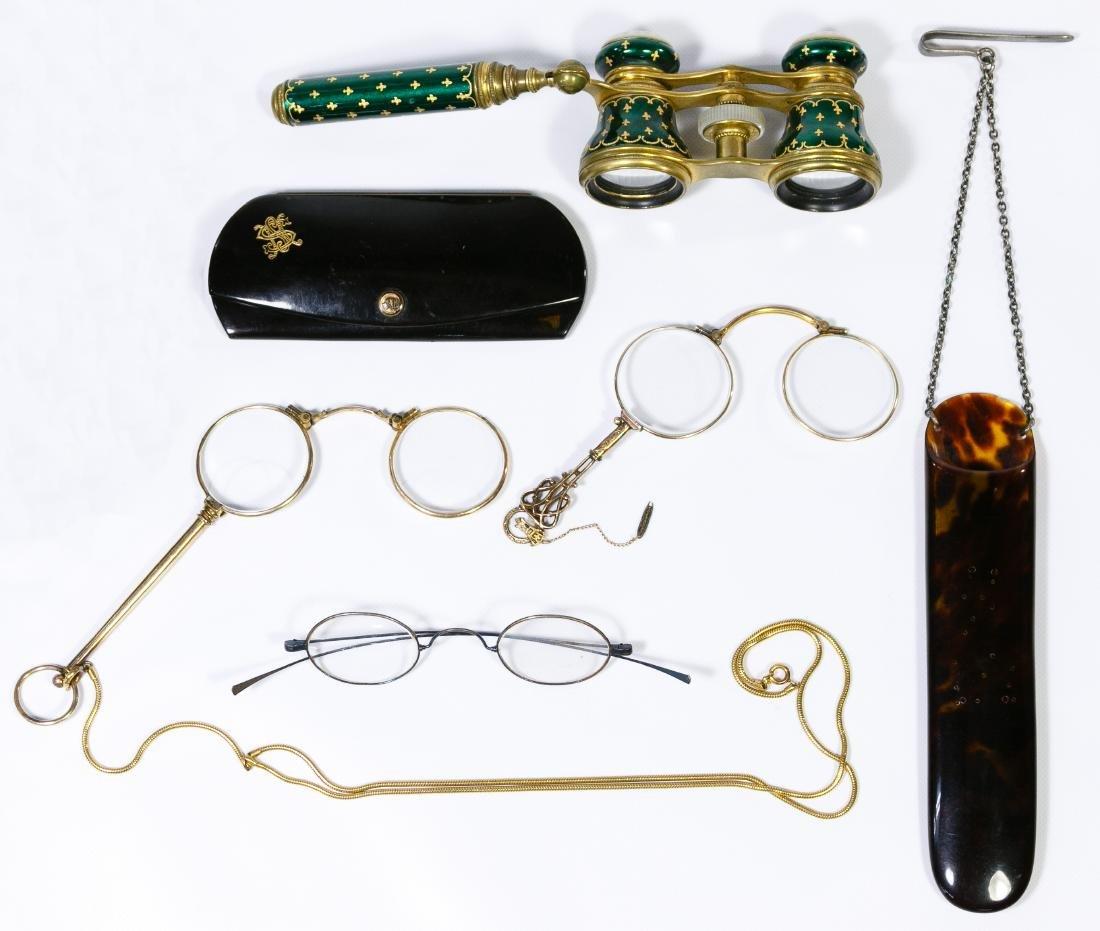 Opera, Lorgnette and Eyeglass Case Assortment