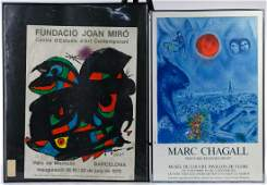 Marc Chagall and Joan Miro Posters