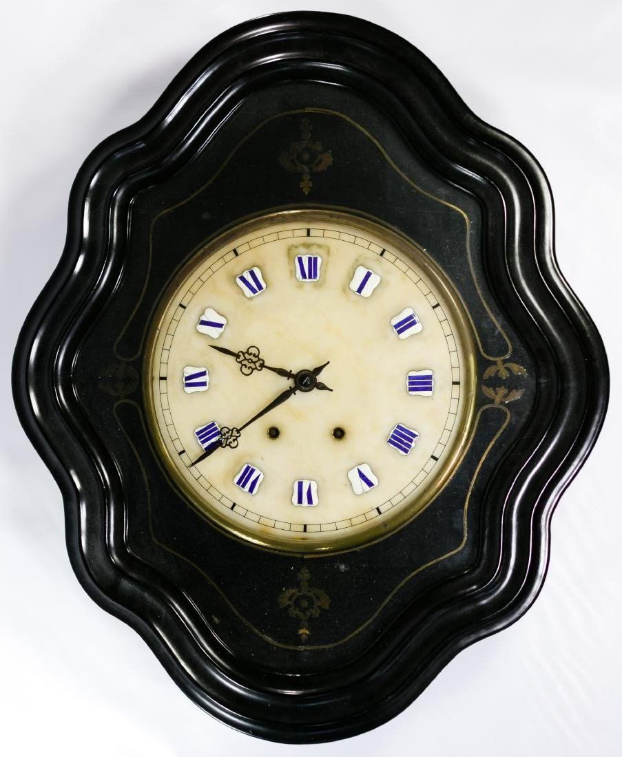 French Comtoise Wall Clock