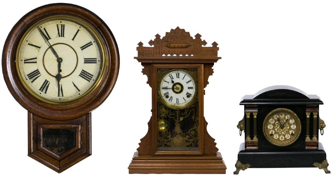 Mantel and Wall Clock Assortment