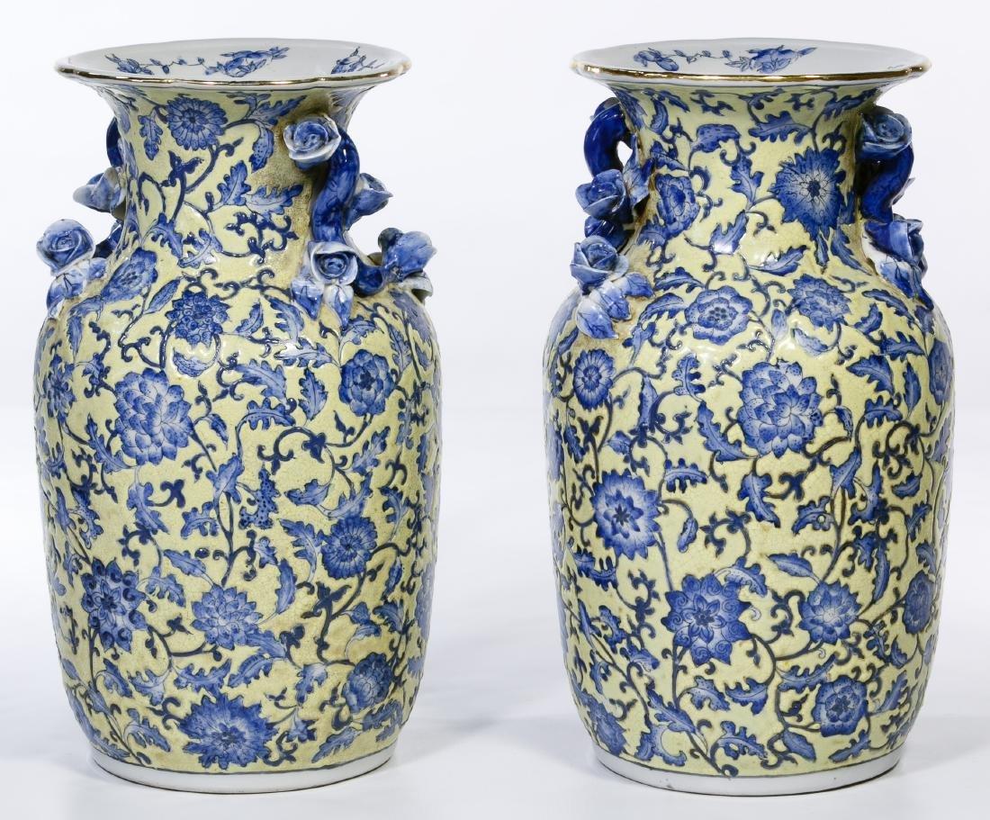 Chinese Peoples Republic Era Ceramic Vases