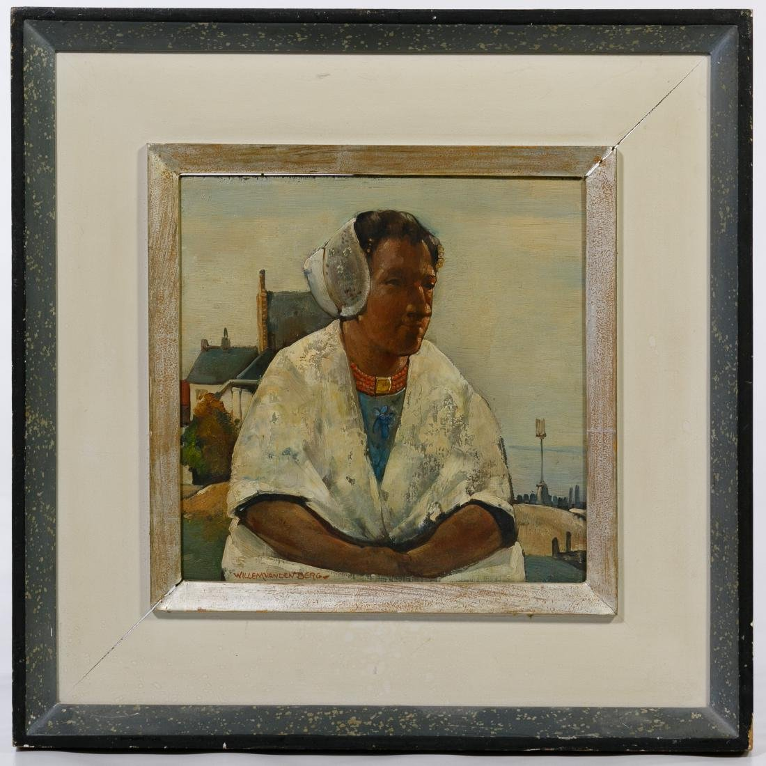 Willem Van Den Berg (American / Dutch, 1886-1970) Oil