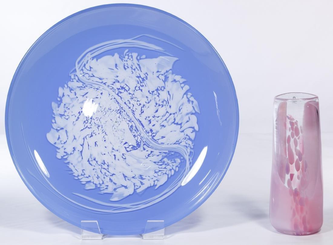 Hadeland Glass Pale Blue Platter