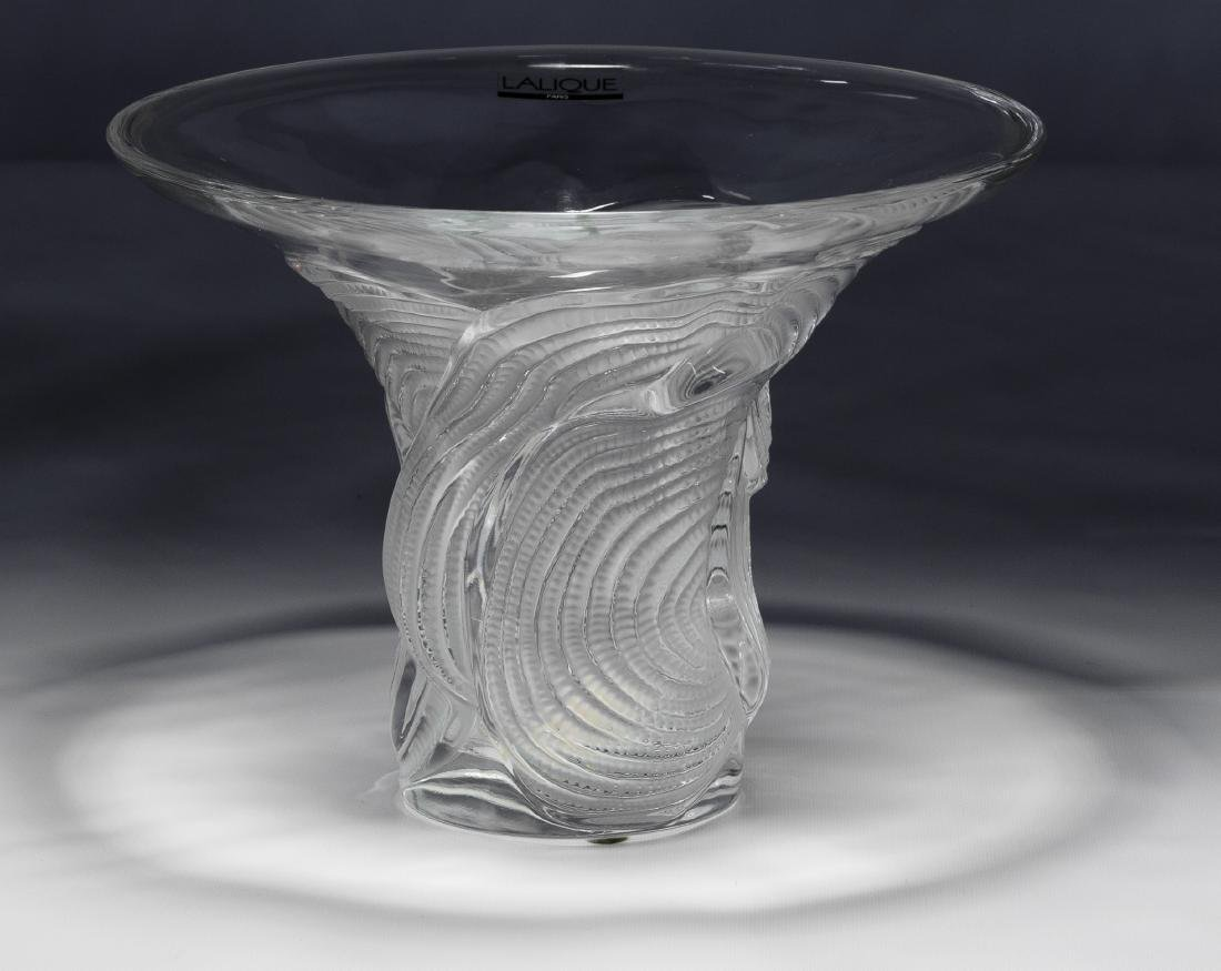 Lalique 'Sertella' Vase with Original Box