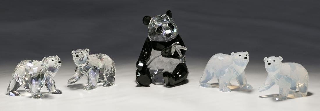 Swarovski Crystal Bear Assortment
