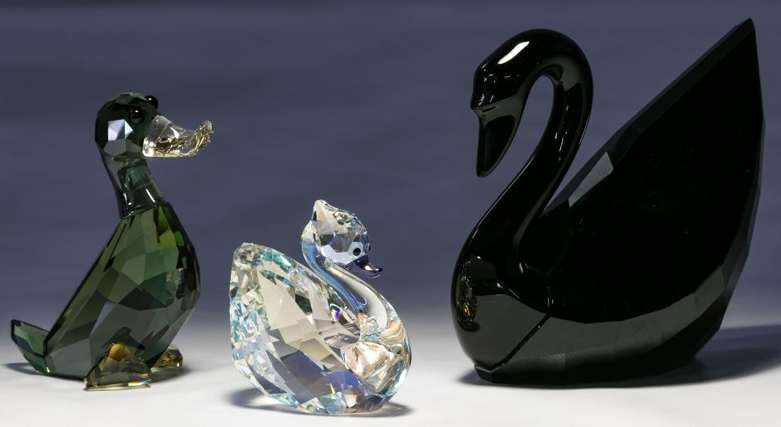 Swarovski Crystal Bird Figurine Assortment