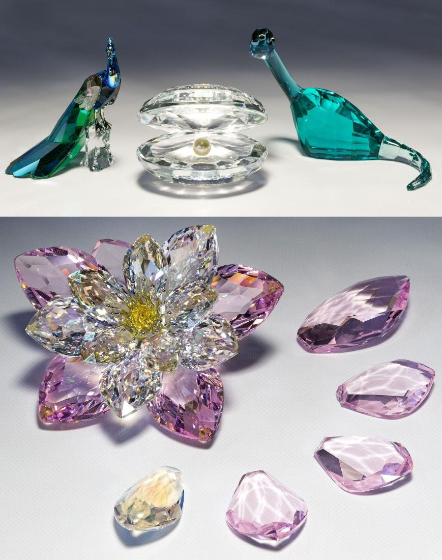 Swarovski Crystal Figurine Assortment