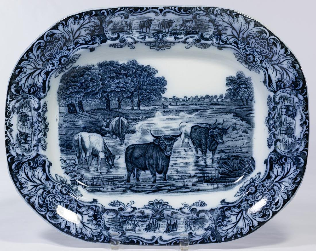 Wedgwood Flow Blue Platter
