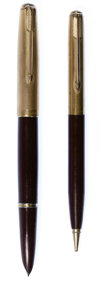 Parker #51 Fountain Pen and Mechanical Pencil Set