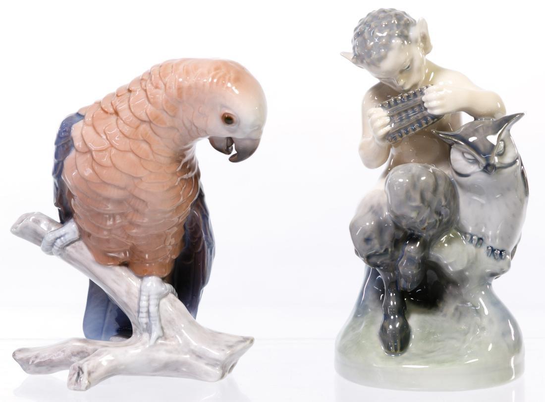 Bing & Grondahl and Royal Copenhagen Figurines