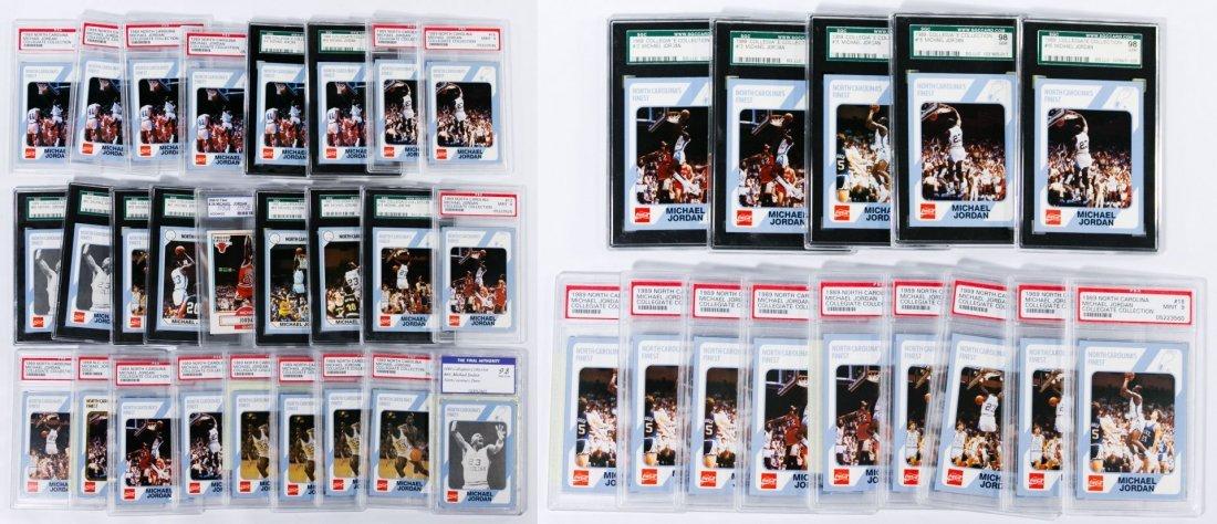 Michael Jordan Collegiate Graded Trading Card