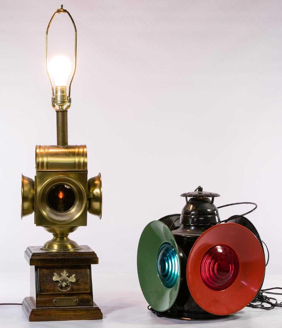 Converted Railroad Lanterns