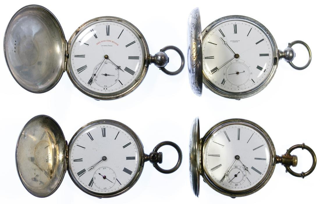 Hunter Case Key Wind and Set Pocket Watch
