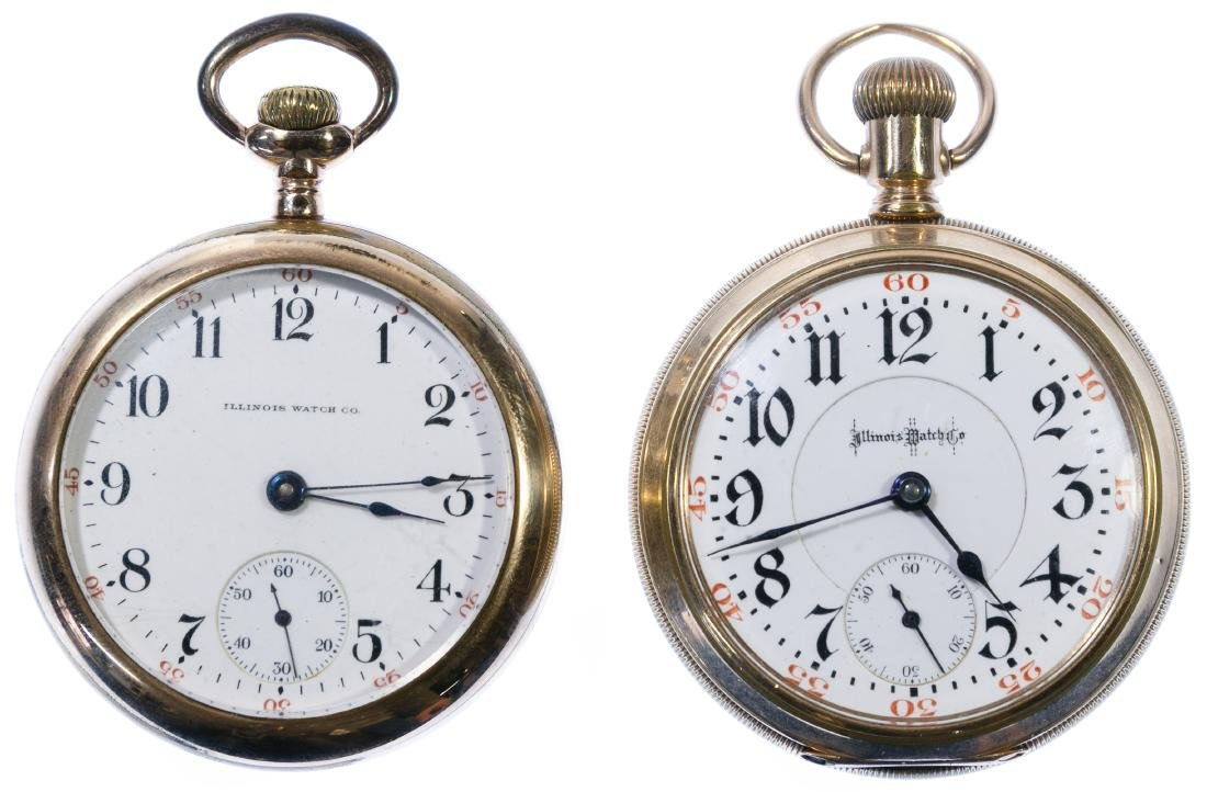 Illinois Gold Filled Pocket Watches
