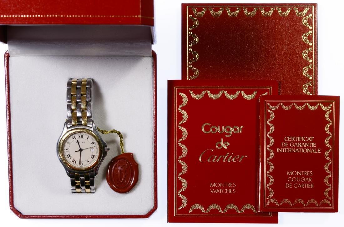 Cartier 'Cougar 187904' Wrist Watch