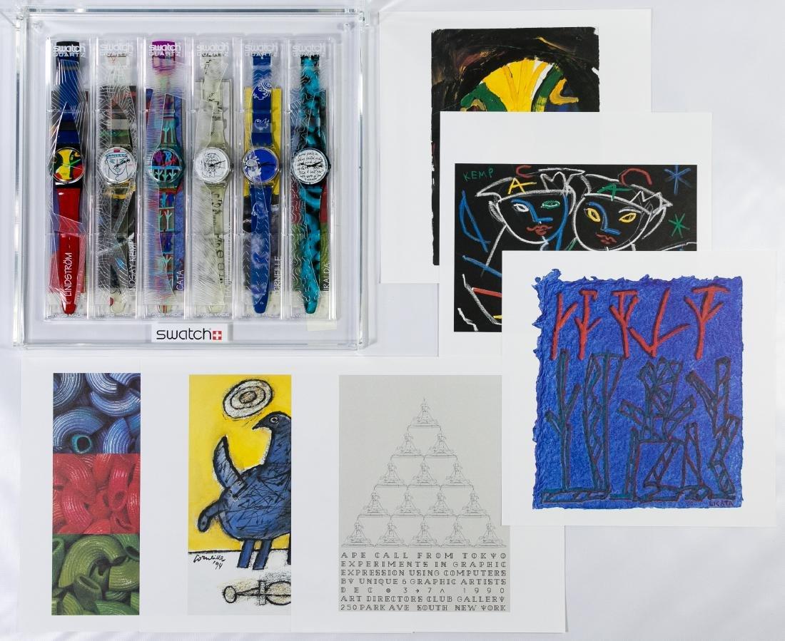Swatch 'Artist' Wrist Watch Collections