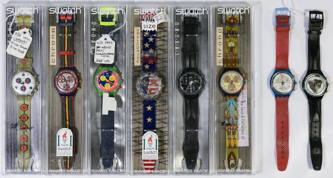 Swatch Chronograph Wrist Watch Assortment