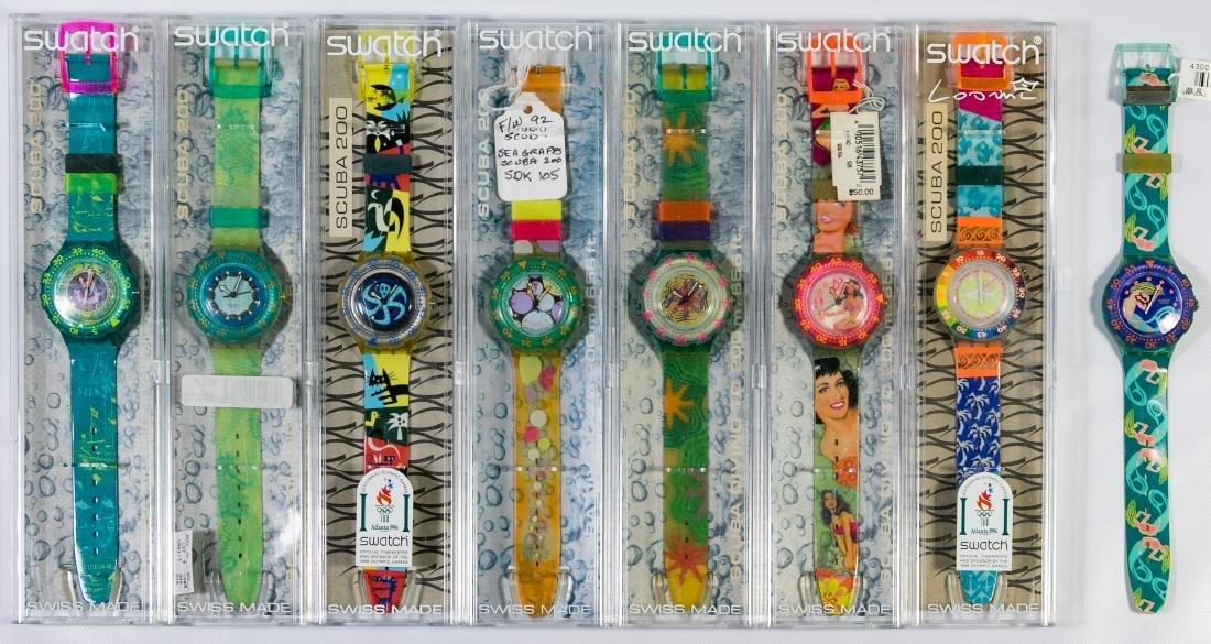 Swatch Scuba 200 Wrist Watch Assortment
